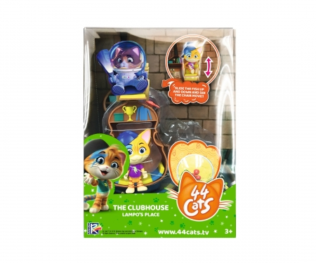 smoby 44 CATS DELUXE PLAYSET/LAMPO