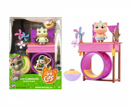 smoby 44 Cats Spielset Deluxe + Spielfigur Pilou