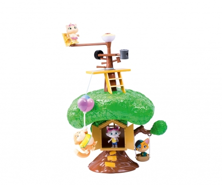 smoby 44 CATS LARGE PLAYSET TREE HOUSE