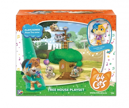smoby 44 CHATS GRAND PLAYSET MAISON ARBRE