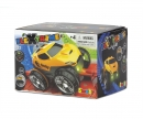 smoby FLEXTREME YELLOW RACING CAR