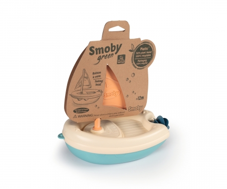 smoby SMOBY GREEN BATEAU A VOILE