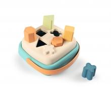 smoby Smoby Green Formensteckspiel-Korb aus Biokunststoff