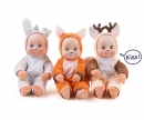 smoby MINIKISS ANIMAL DOLL ASST