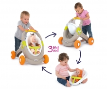 Minikiss Animals 3in1 Laufwagen
