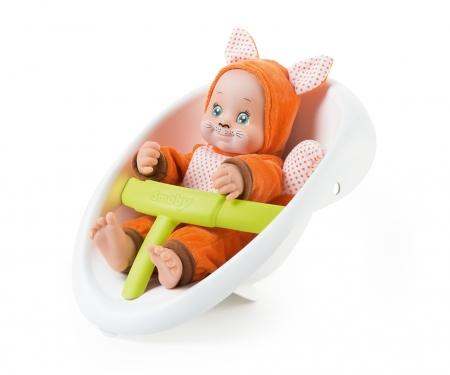 smoby Smoby Minikiss Animals 3-in-1 Lauflern-Puppenwagen