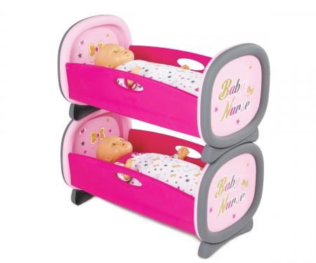 smoby BN Dvě postýlky pro panenky dvojčata