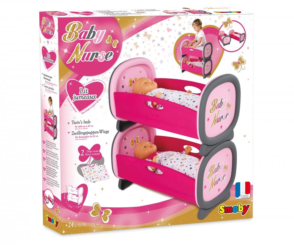 Bn Lits Jumeaux Baby Nurse Accessoires De Poupees Produits