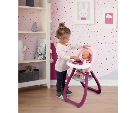 smoby BN jídelní židlička pro panenky
