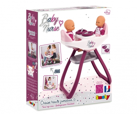 smoby BN TWIN HIGHCHAIR