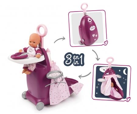 smoby BN Nursery kufřík 3v1