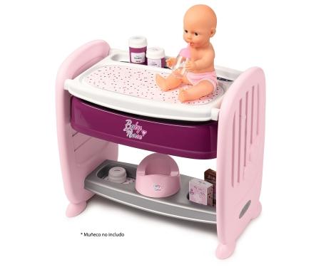 smoby Baby Nurse 2v1 postýlka/přebalovací pult