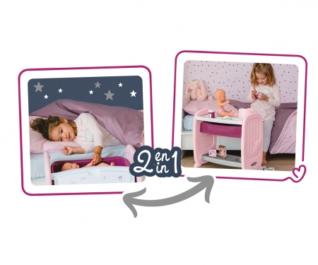smoby BN 2 IN 1 CO SLEEPING BED