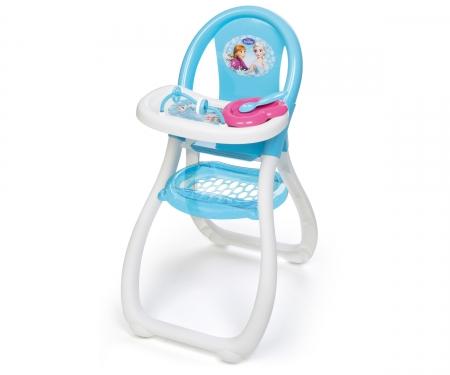 smoby Ledové království Jídelní židlička pro panenku
