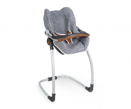smoby MC&Q GREY SEAT+HIGH CHAIR