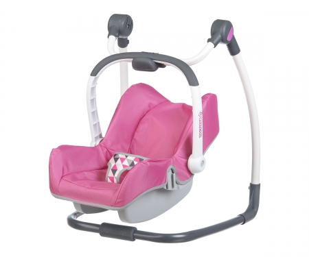 smoby 3v1 Autosedačka a židlička Maxi Cosi pro panenky