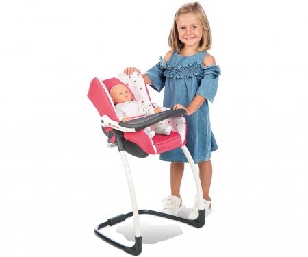 smoby 3v1 Autosedačka a židlička MC&Q pro panenky