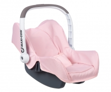 smoby Autosedačka Maxi-Cosi pro panenky světle růžová