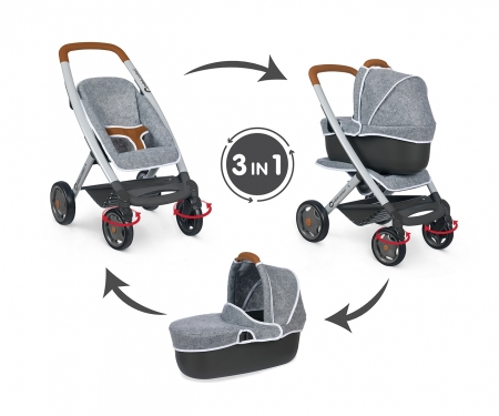smoby COMBI SMOBY BEBE CONFORT GRIS