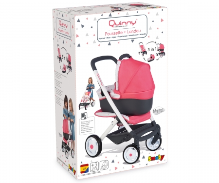 smoby Kombinovaný kočárek Maxi Cosi pro panenky