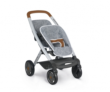 smoby MC&Q GREY TWIN PUSHCHAIR