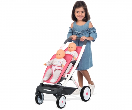 MC&Q TWIN PUSHCHAIR