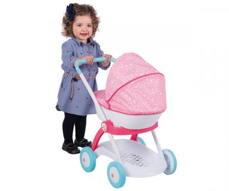 Disney Princess Puppenwagen mit Verdeck