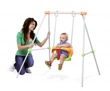 smoby Smoby Metallschaukelgestell Baby Swing, 120 cm