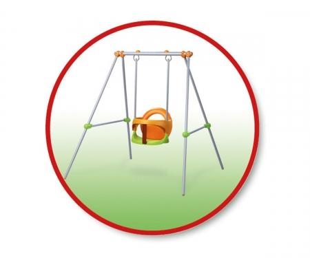 smoby Houpačka Baby, kovová konstrukce 1,2m