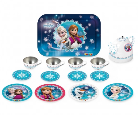 LA REINE DES NEIGES DINETTE METAL