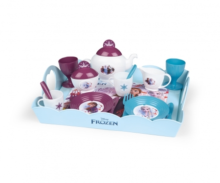 smoby LA REINE DES NEIGES 2 PLATEAU TEA TIME XL