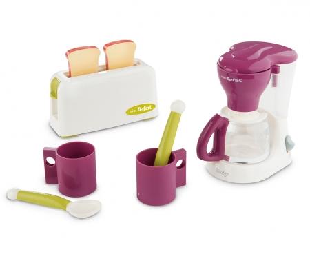 smoby Smoby Tefal Frühstücksset mit Kaffeemaschine