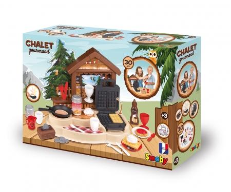 smoby Smoby Spielküche Gourmand Chalet Hüttenzauber