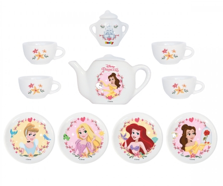 DISNEY PRINCESS PORCELAIN TEA SET