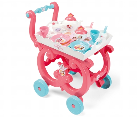 smoby DISNEY PRINCESS XL TEA TROLLEY