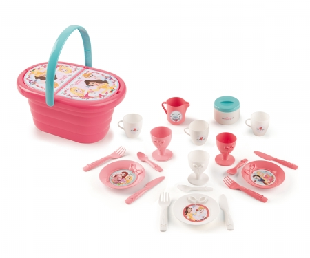 smoby DISNEY PRINCESS PICNIC BASKET