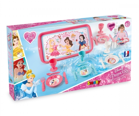 smoby Disney Princess Čajový set s tácem