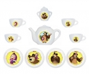 smoby MASHA PORCELAIN TEA SET