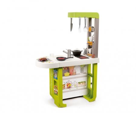 smoby Kuchyňka Bon Appetit Cherry zeleno-žlutá elektronická
