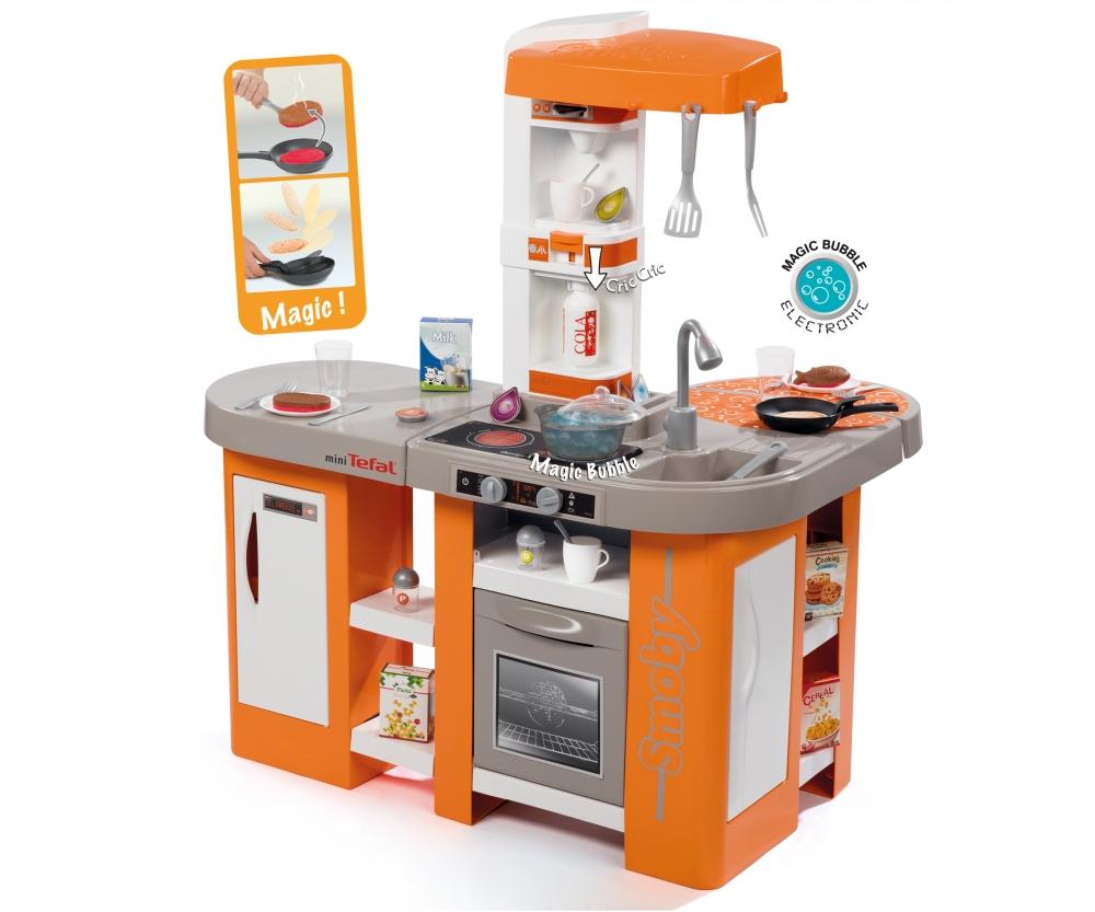df054cf56 Kuchyňka Tefal Studio XL Bubble oranžovo-šedá, elektronická - Kuchyňky a  příslušenství - Hrajeme si na - Produkty - www.smoby.com