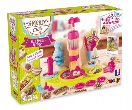 smoby SMOBY CHEF EASY BISCUITS FACTORY