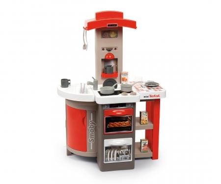 smoby Kuchyňka Tefal skládací elektronická, červená