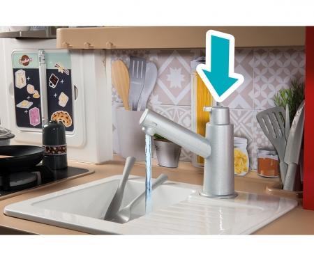 smoby Kuchyňka Tefal Evolutive Gourmet + voda