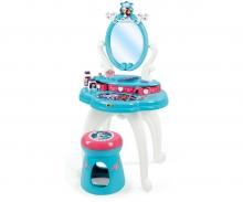 smoby Ledové království Toaletní stolek se židličkou