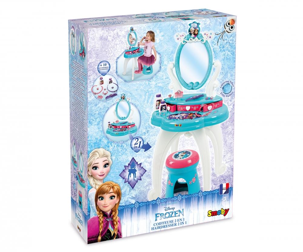 b277620b185 Disney Frozen Specchiera 2 IN 1, con 10 accessori - Specchiere e ...