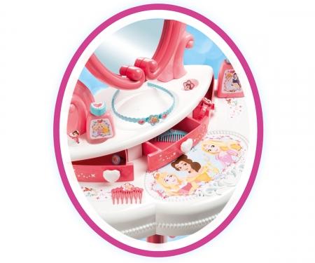 smoby Disney Princess 2v1 Toaletní stolek se židličkou