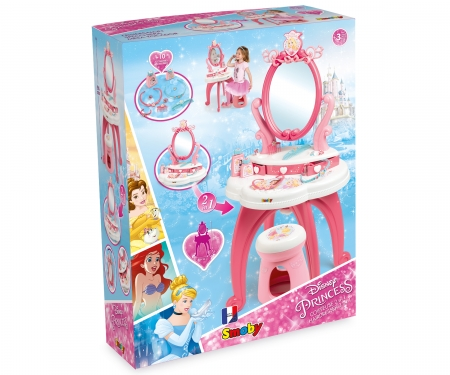 DISNEY PRINCESS COIFFEUSE 2 EN 1