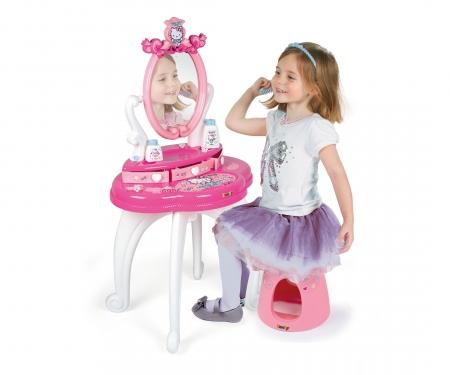 smoby Hello Kitty 2v1 Toaletní stolek se židličkou