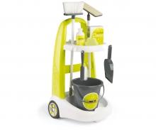 Vozík pro malou uklízečku