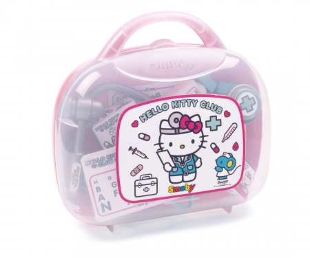 smoby Doktorský kufřík s příslušenstvím Hello Kitty